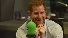 Rádiós riporternek állt Harry herceg