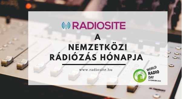 Indul a Nemzetközi Rádiózás Hónapja a RADIOSITE-on!
