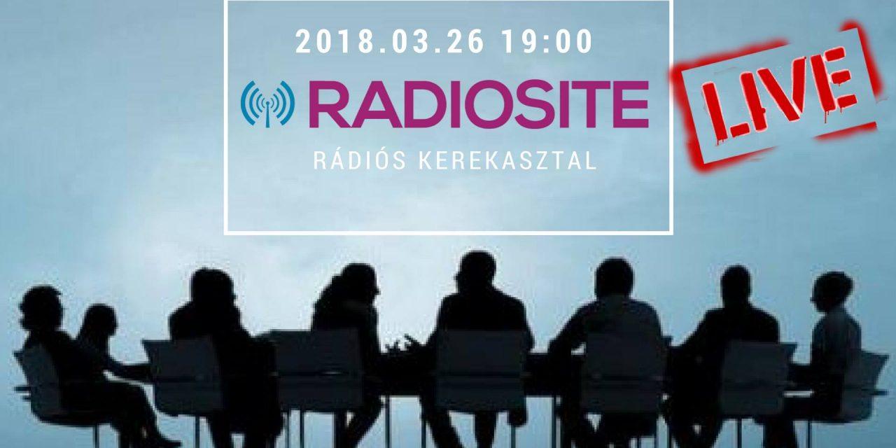 Rádiós kerekasztal-beszélgetést szervez a RADIOSITE