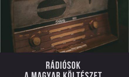 Rádiósok verseltek a Magyar Költészet Napjára