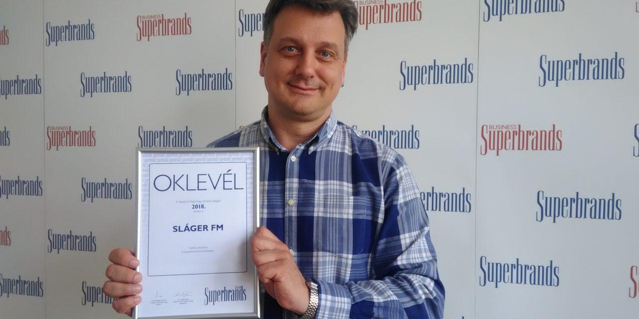 Superbrands díjas a 103.9 Sláger FM