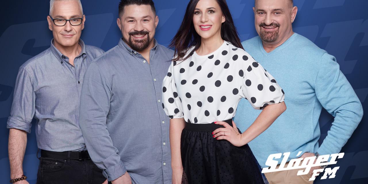 Sláger FM: Budapest és Budapest – Pest megye leghallgatottabb oldies rádiója a 103.9 Sláger FM