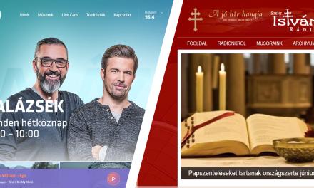 Két rádió is új weboldalt kapott