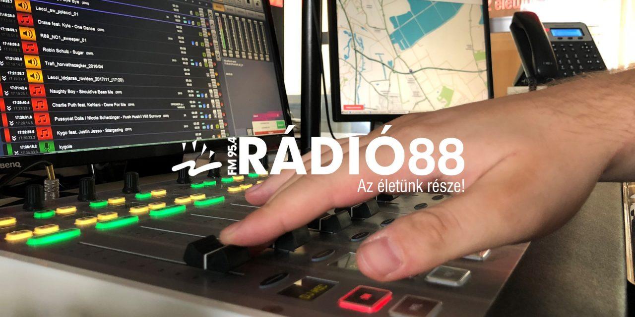 Csúcson a Rádió 88