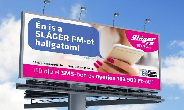 Nyereményjátékot és reklámkampányt indított a Sláger FM