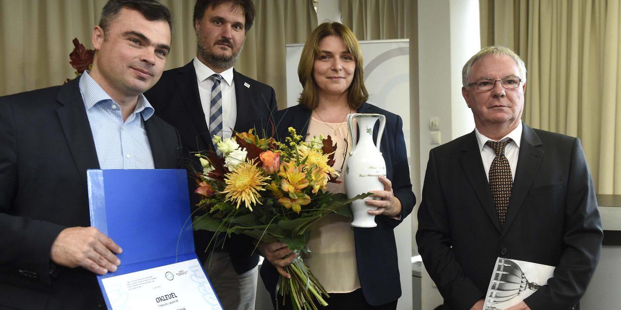 Keresztes Ilona kapta a Duna Médiaszolgáltató Tőkéczi-díját