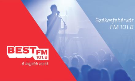 Elindult a székesfehérvári Best FM tesztadása (frissítve)