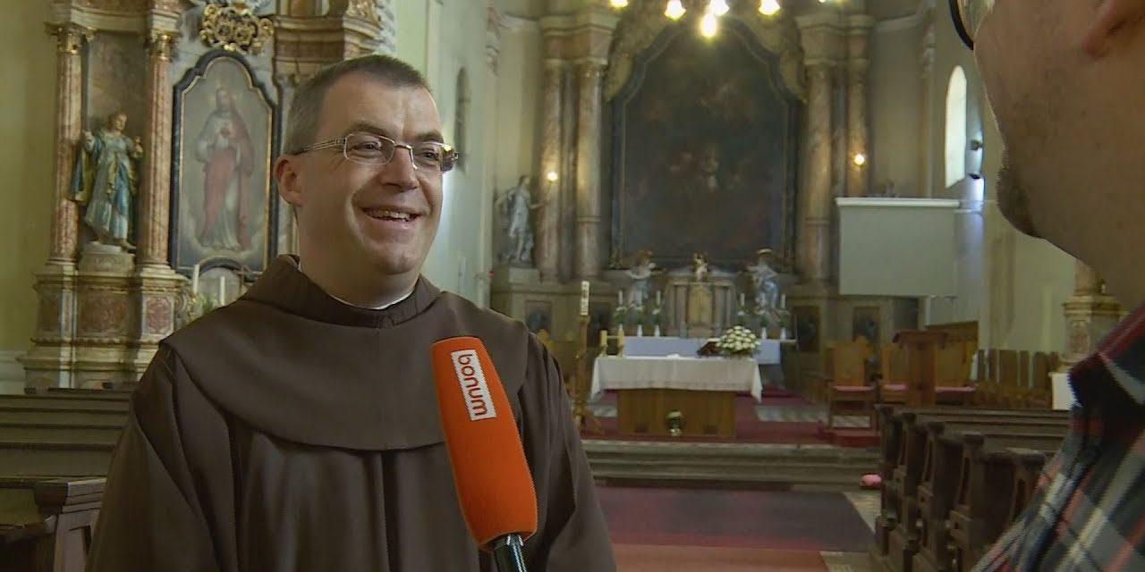 P. Lukovits Milán ferences szerzetes a Mária Rádió új műsorigazgatója