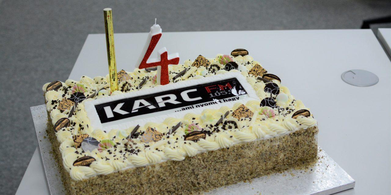 Négyéves a Karc FM
