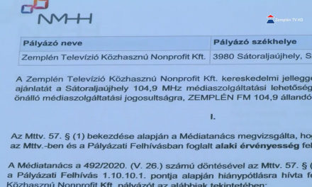 Zemplén FM néven új helyi kereskedelmi rádió indul